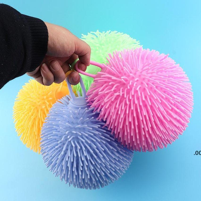 Fidget Lumineux Ball Slow dans la bulle Dark Push Bubble Fidget Sensory Sensory Stress Relief décompression Relax Relax anti-stress LLB9075