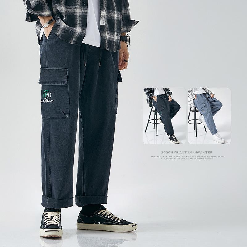 Jeans otoño e invierno Nuevos pantalones Grandes Elastic Pequeños JeansFn5