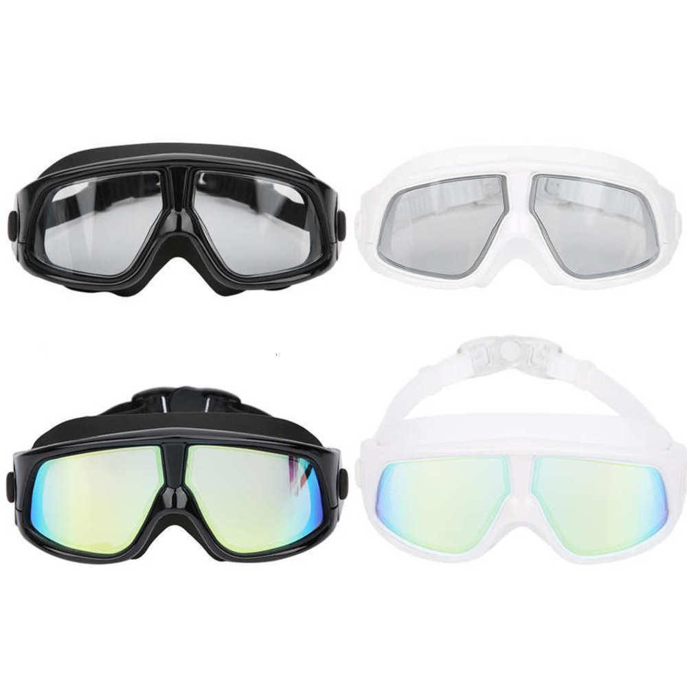 Goggles -Fog Galvanisierter großer Rahmen Embryo Fog Silikon Schwimmen High Definition Special Accessoire