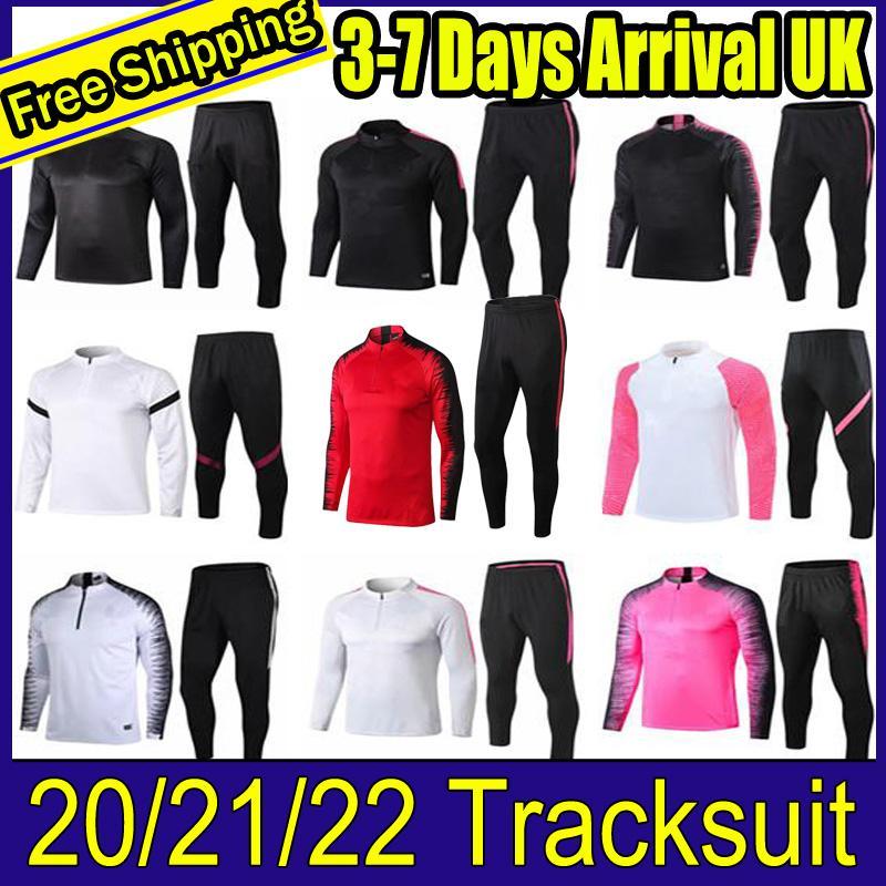 2021/22 파리 Tracksuit 교육 정장 MBappe Survêtements 스웨터 21/22 샹들리콘 세트