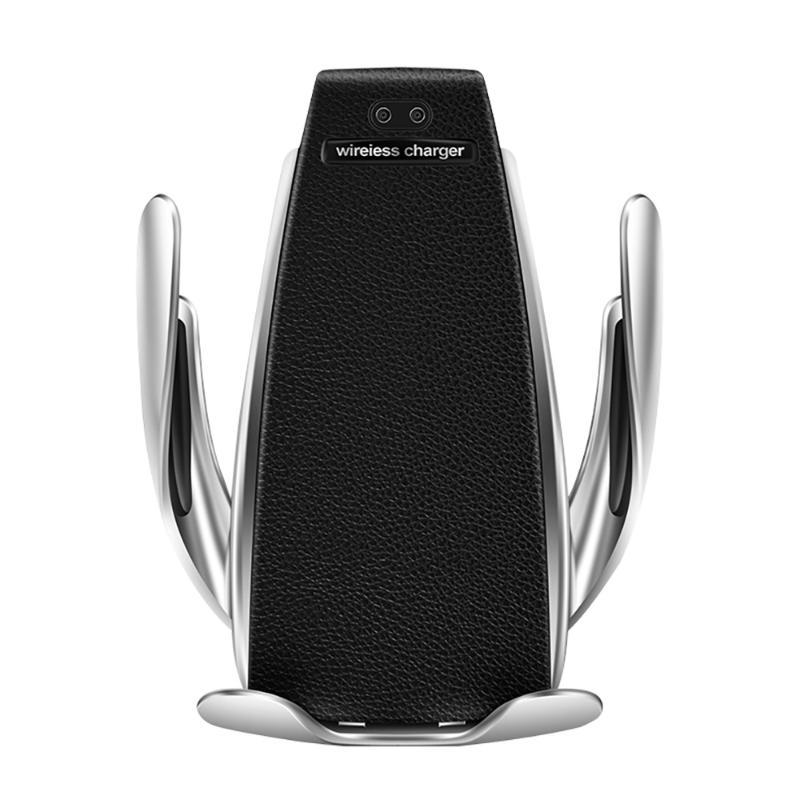 Supporti per telefoni cellulari Titolari Qi Auto Car Caricatore a infrarossi Intelligent Charger wireless Air Vent Mount Mobile Stand per X XR XS max