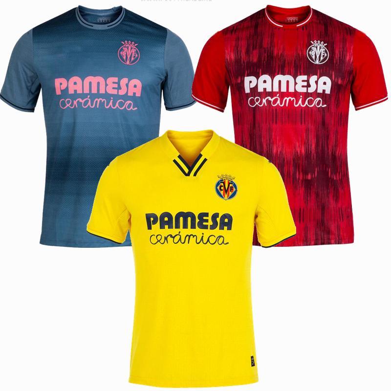 2021 2022 Final Villarreal CF Futebol Jerseys 21 22 IBORRA PAREJO GERARD Paco Alcácer S.Cazorla Home Fora