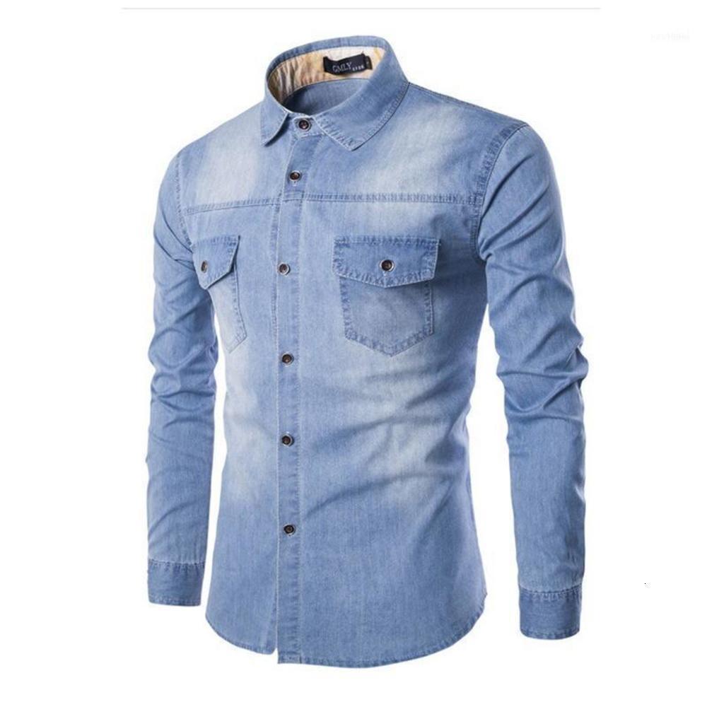 남자 셔츠 고품질 2019 패션 브랜드 캐주얼 부드러운 면화 남자 셔츠 스트리트웨어 긴 소매 남성 Camisa Hombre 플러스 크기 6xl11