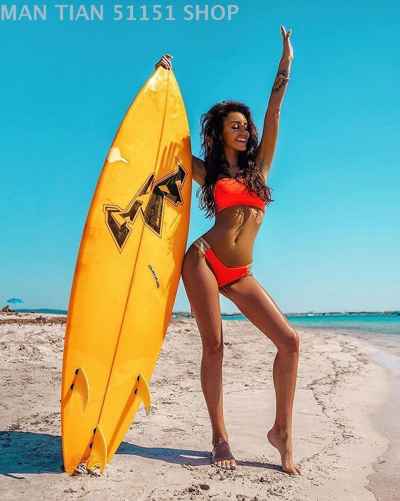 e commercio europeo americano straniero sexy bikini nastro spaccato costume da bagno