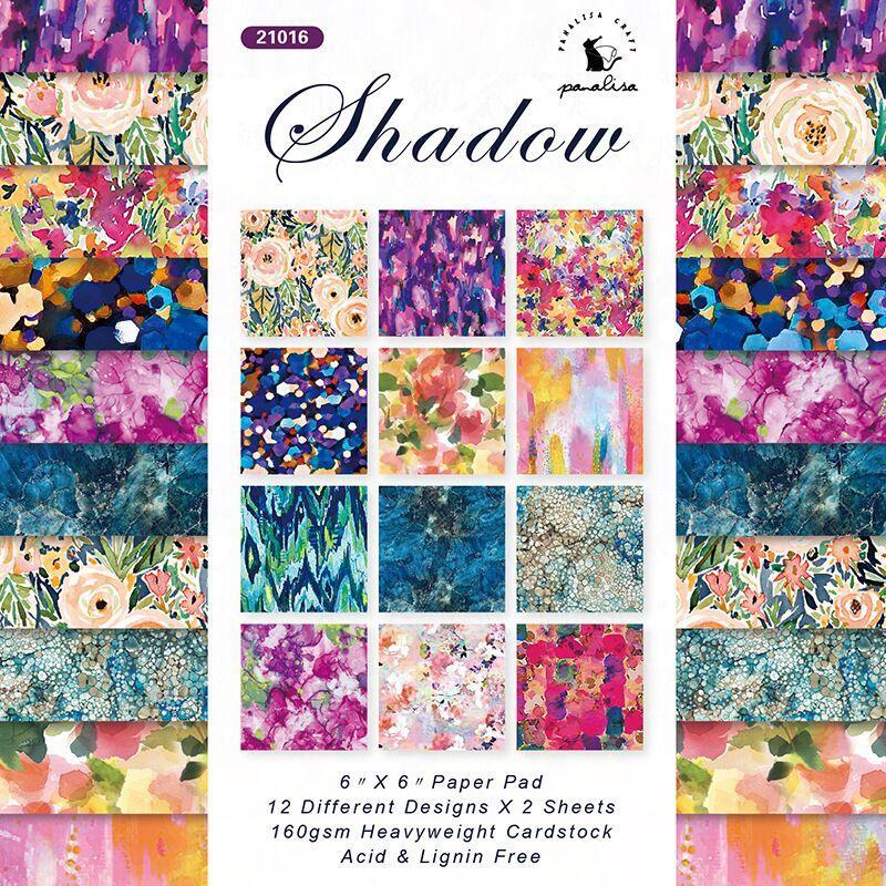 Other Arts And Crafts DIY Flower Scrapbooking Paper Pack Of 24sheets Handmade Craft Background Pad 0949
