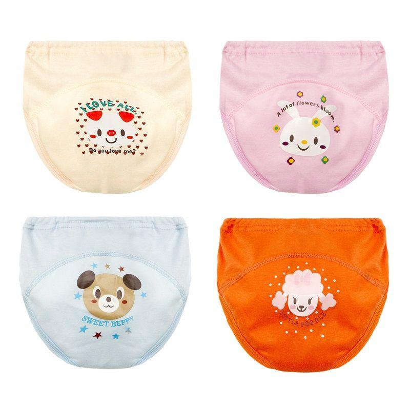 Pantalones de entrenamiento para orinar Pañales de bebé para niños pequeños Niña Bragas Reutilizables Lavable Lavable Pañal Pañales de algodón bebé Impermeable 939 x2