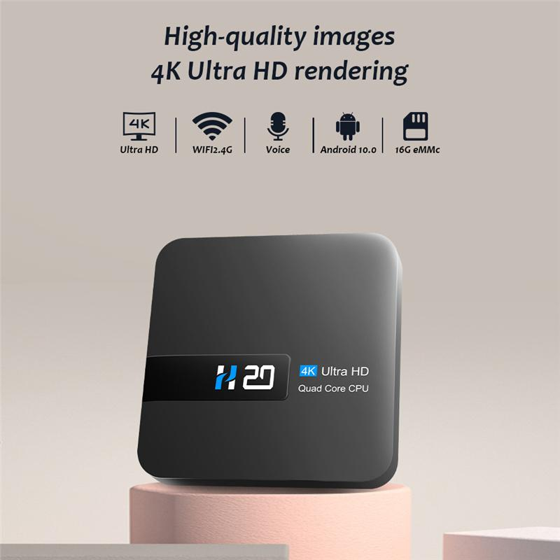 Latest Android 10 OS H20 Smart TV BOX 3D Video 2GB RAM 16GB Set Top Box Android Media Player with Mini Keyboard 1G 8G