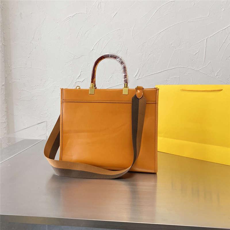Totes das mulheres 21ss carta impressão bolsas elegantes da bolsa de compras da capacidade de compras da capacidade de compras com as cores sólidas da alça