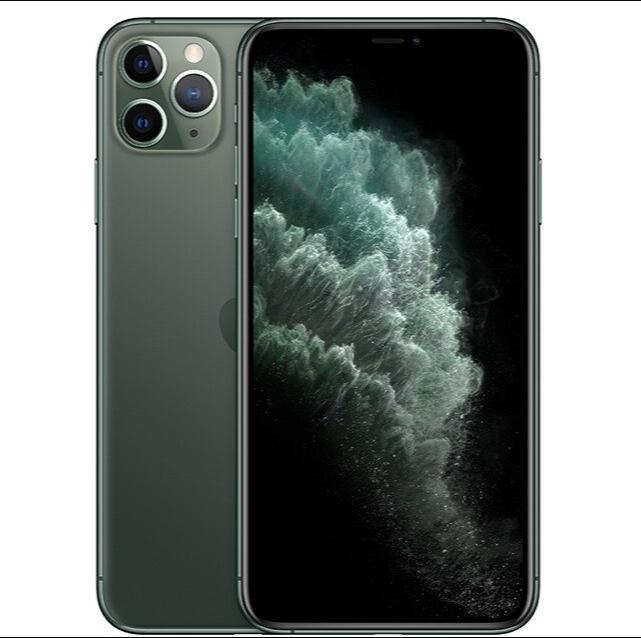 "Orijinal iPhone 11 Pro / Pro Max Üçlü Arka Kamera 5.8 / 6.5 ""AMOLED Ekran A13 iOS Smartphone A2160 / A2161 / A2217 / A2220 4G LTE"