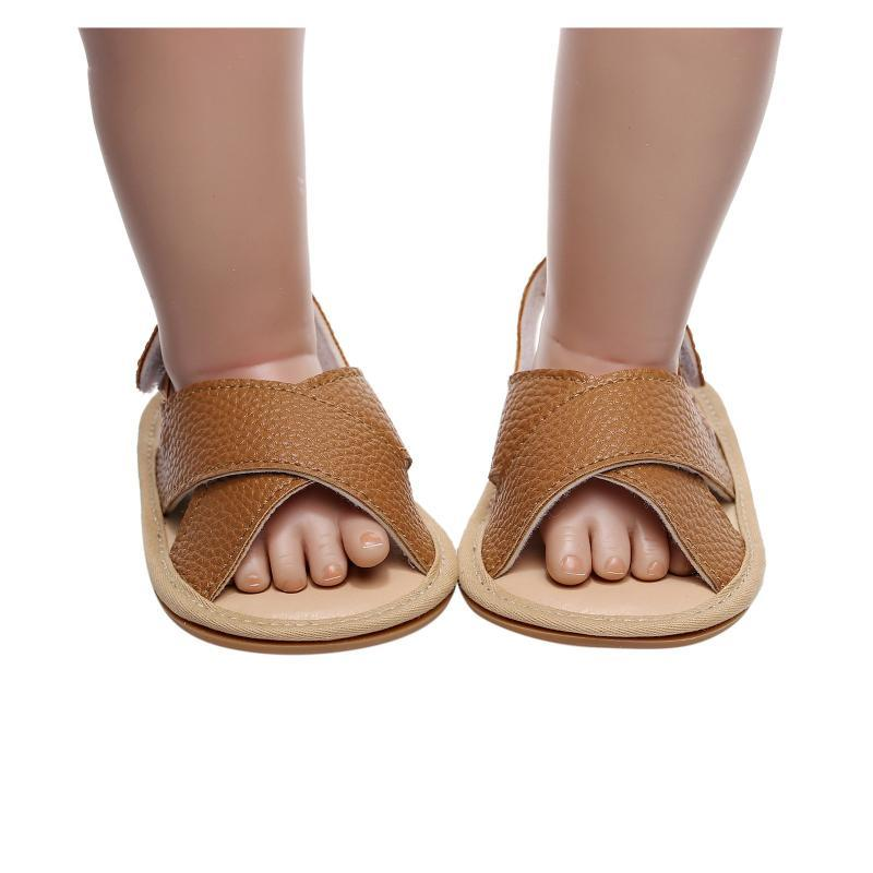 Sandalias 2021 Summer Children's Beach Shoes Kids Fashion Fashion Cross-atado suave Simple Toddlers Boys Girls Clogs #zyj