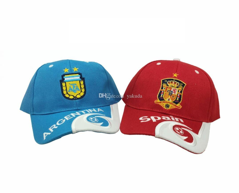 2021 National Team Ajustable Teams Hats Snapback Soccer Baseball Caps Football Hat yakuda local online store Dropshipping Accepted Hip Hop