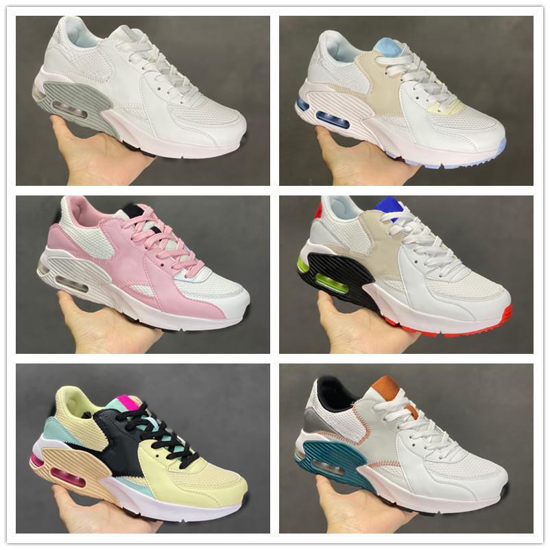 2021 Maxs 90 EXCEE SHOETS para hombres y mujeres Sports Sneaker, Tamaño US 5.5 - 11