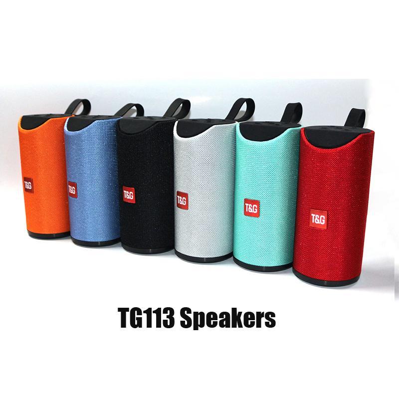 TG113 Altoparlanti wireless Bluetooth Subwoofer Handsfree Profilo di chiamata Profilo stereo Basso Supporto TF USB Card Aux Line in hi-fi ad alta voce