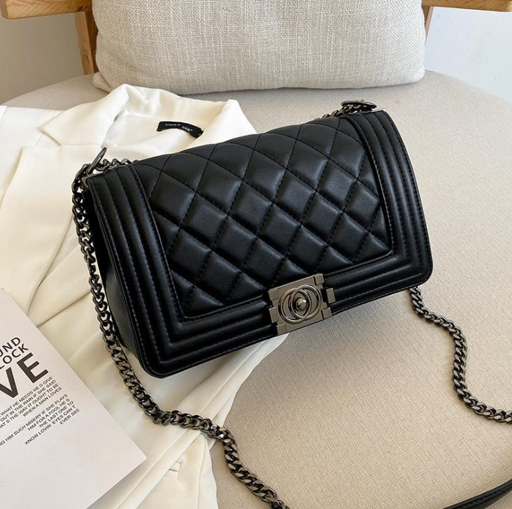 Bolso de diseño de lujo de diseño 100% Bolsas de Crossbody 2021 Mujeres Mujeres Bolsas de hombro Monederos y bolsos