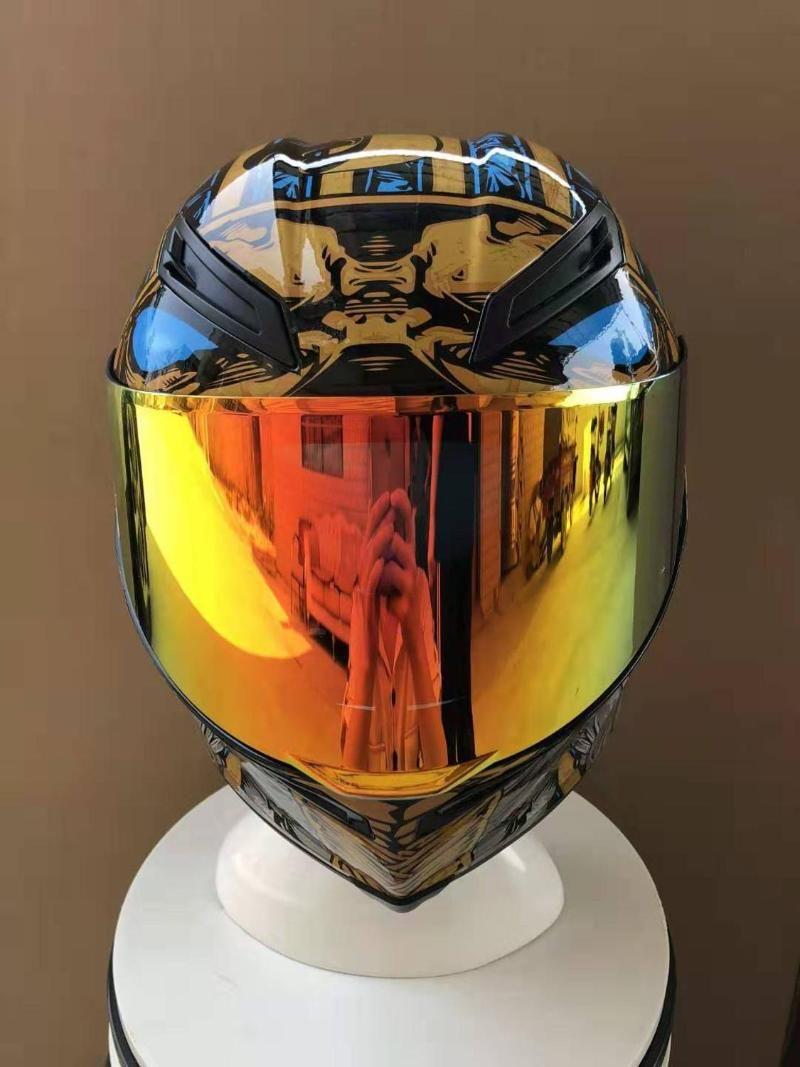 Motorradhelme Ankunft Vollgesicht 2 Pharao Helm Reiten Auto Motocross Racing Motorrad