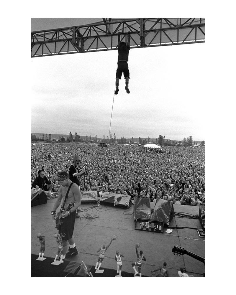 Pearl Jam PinkPop 1992 Плакат Картина Печать Домашний декор оформленных или неразрешенных фотоперов