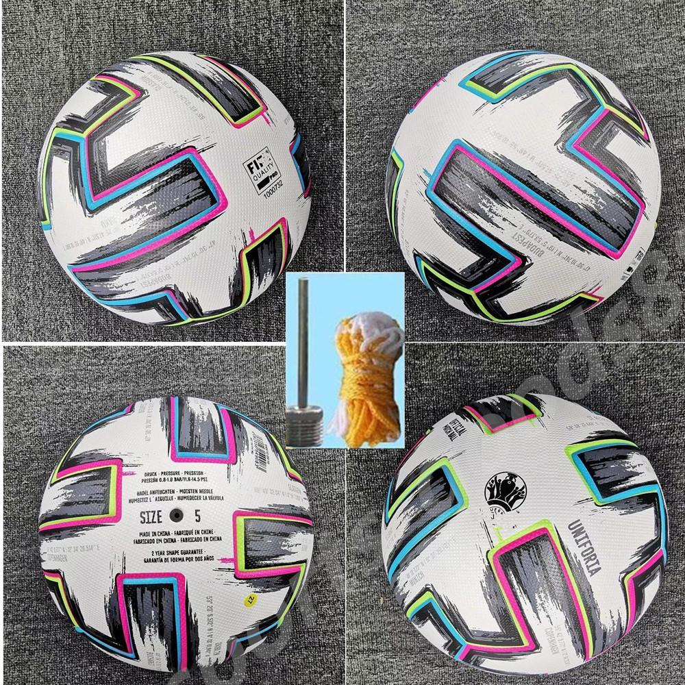 20 21 Top Quality Europeu Copa Tamanho 4 Bolas de futebol 2021 Final Kyiv Pu 5 Grânulos de Esfera Resistente ao Desenterro