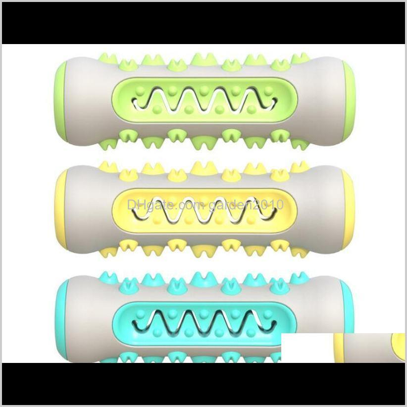 Multi Toothbrush Chew Bones Tpr Odontoprisis Resistance To Bite Cat Toys Chews Dog Pet Supplies Ha281 Mokjm 80Wrj