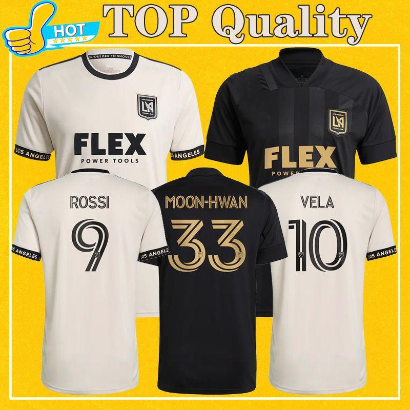 Lafc 축구 유니폼 2021 멀리 홈 축구 셔츠 로스 앤젤레스 FC Vela Rossi 최고 품질 더 많은 15pcs 빠른 배