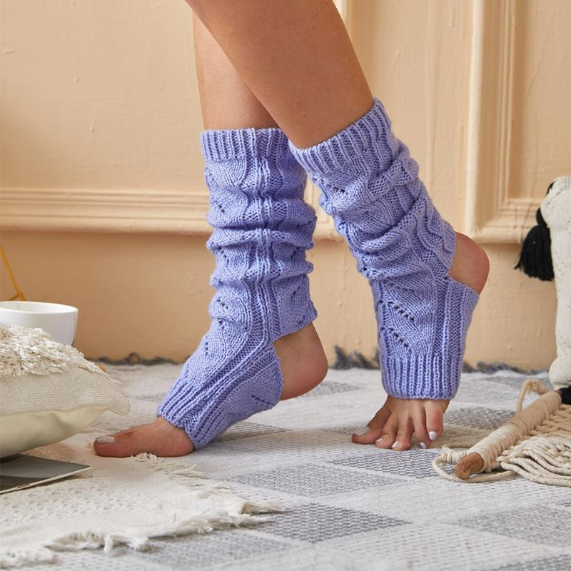 Socks & Hosiery Fashion Stockings Women Lady Cable Knit Long Over Knee Thigh High Warm Pantyhose Trim Tights 2021 Ballet Bocks