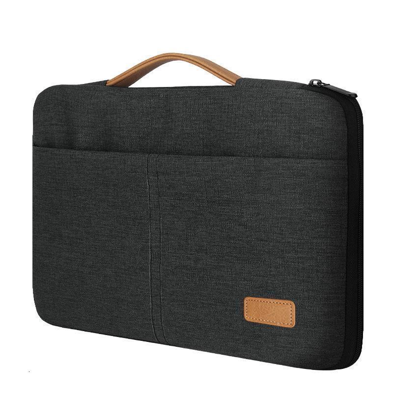 Evrak Çantaları Erkekler Portafolio MacBook için 13.3 14 15 inç Huawei Ince Dizüstü Ofis İş Tablet Çantası Messenger Çanta Zincir 13 inç1 VZ30