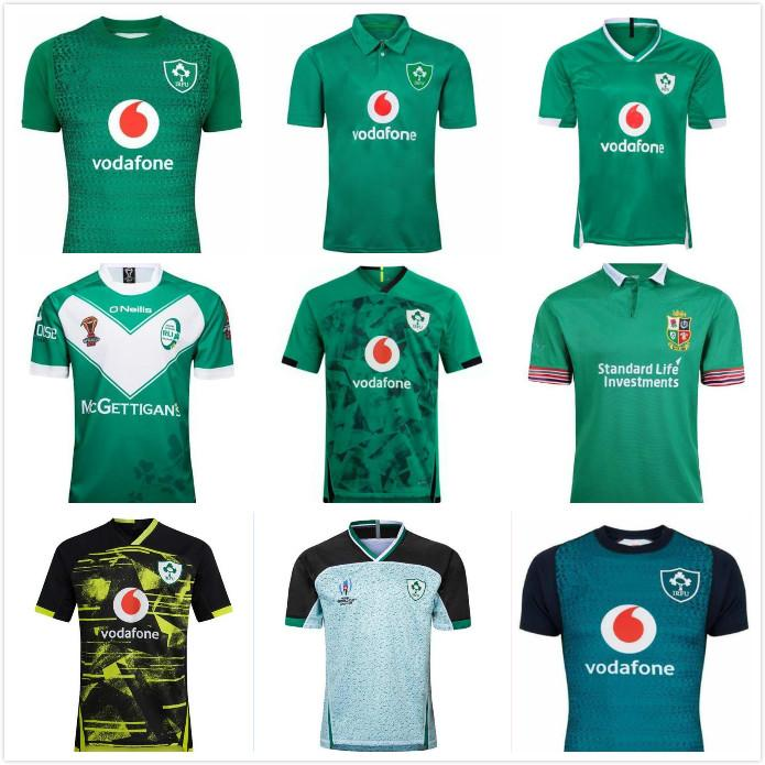 Top New 2019 2020 2021 Irland Rugby-Trikots T-shirts Home Away Rugby League Jersey 20 21 Shirts S-5XL