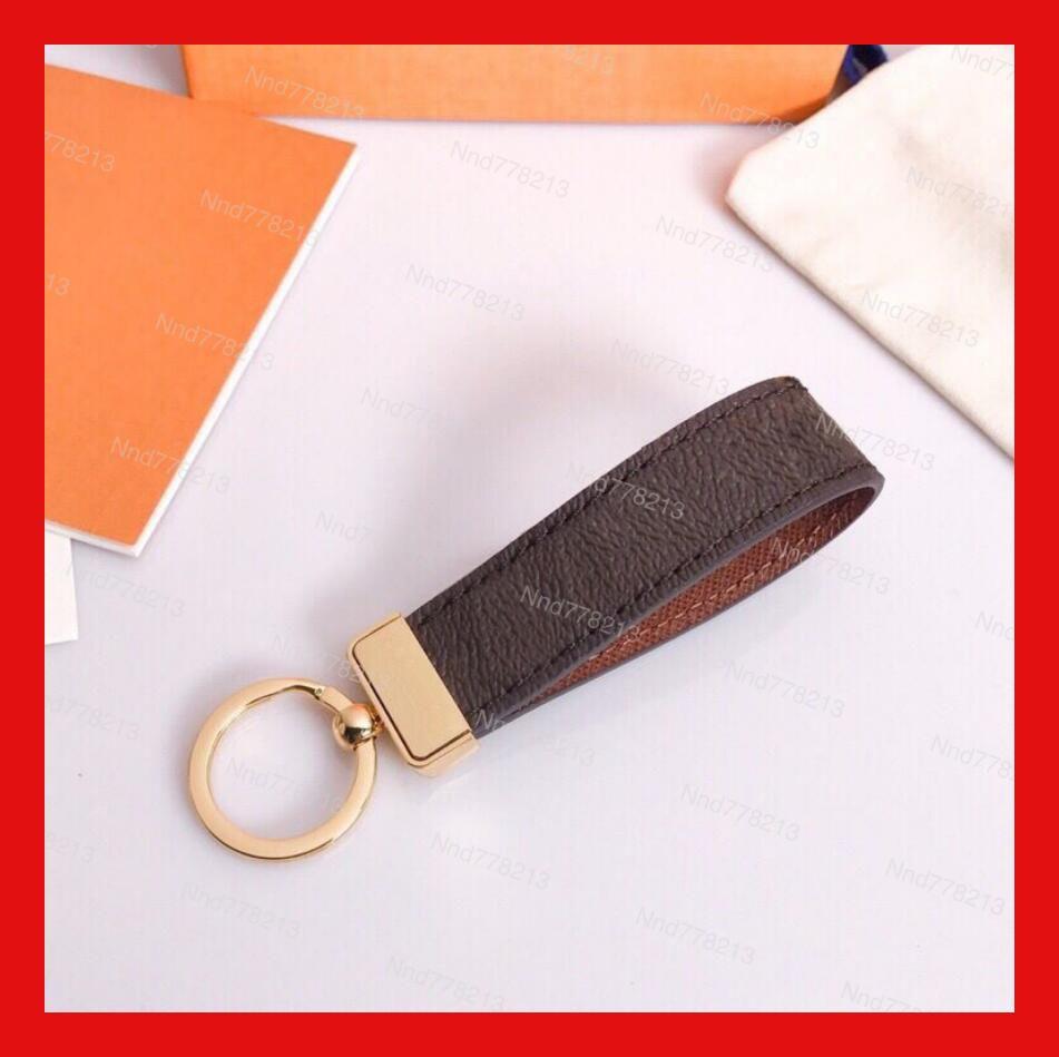 Design de luxo Long Keychain Chaveiro Chave Chave Mens e Womens Saco Fixo Acessórios Pingente