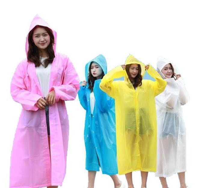 Household Sundries Home & Garden Drop Delivery 2021 Men Women Unisex Waterproof Raincoats Jacket Hooded Raincoat Rain Coat Poncho Rainwear Ou