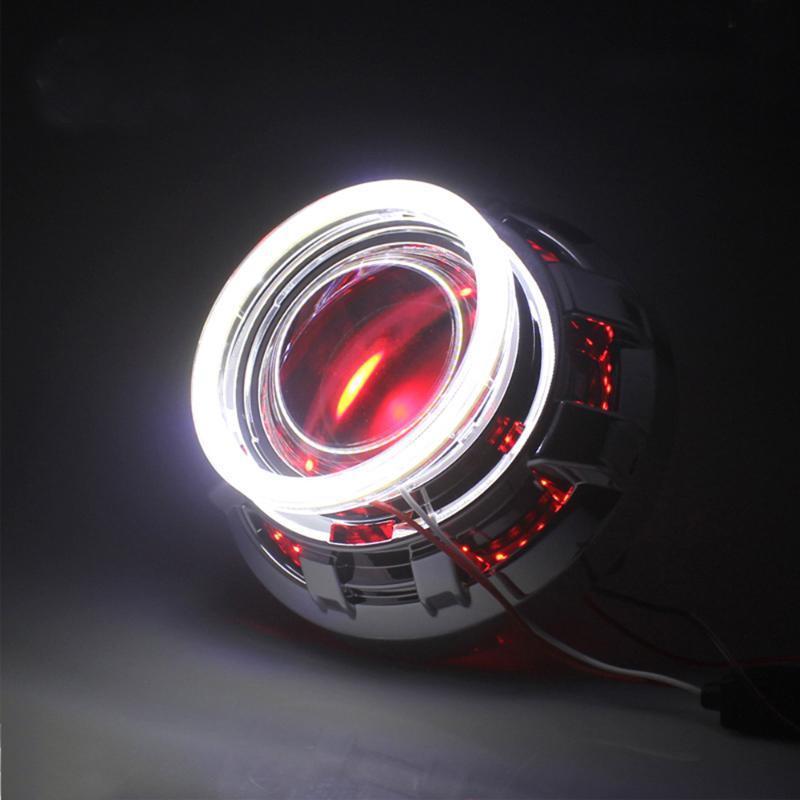 Other Lighting System Car Led Aperture 1 Pcs Universal Cars Angel Eyes Headlight Lamps DC 12 V Truck Light Eye Lamp Ring Bar