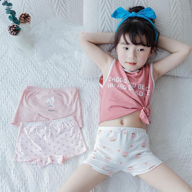 Bragas para niños niñas ropa interior niños de alta calidad suave algodón lindo dibujos animados raya impresión transpirable por 2-15y