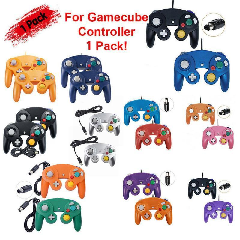 Controller cablato Gamepad per NGC GameCube console classico videogioco Joystick JoyStick JoyPad Accessory Controller Joysticks