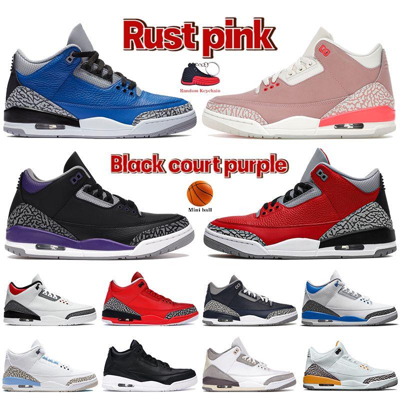 2021 Yeni Erkekler Basketbol Ayakkabıları UNC Pas Pembe Racer Mavi Varsity Kraliyet Çimento Yangın Kırmızı Denim Georgetown Kadın Sneakers Erkek Eğitmenler