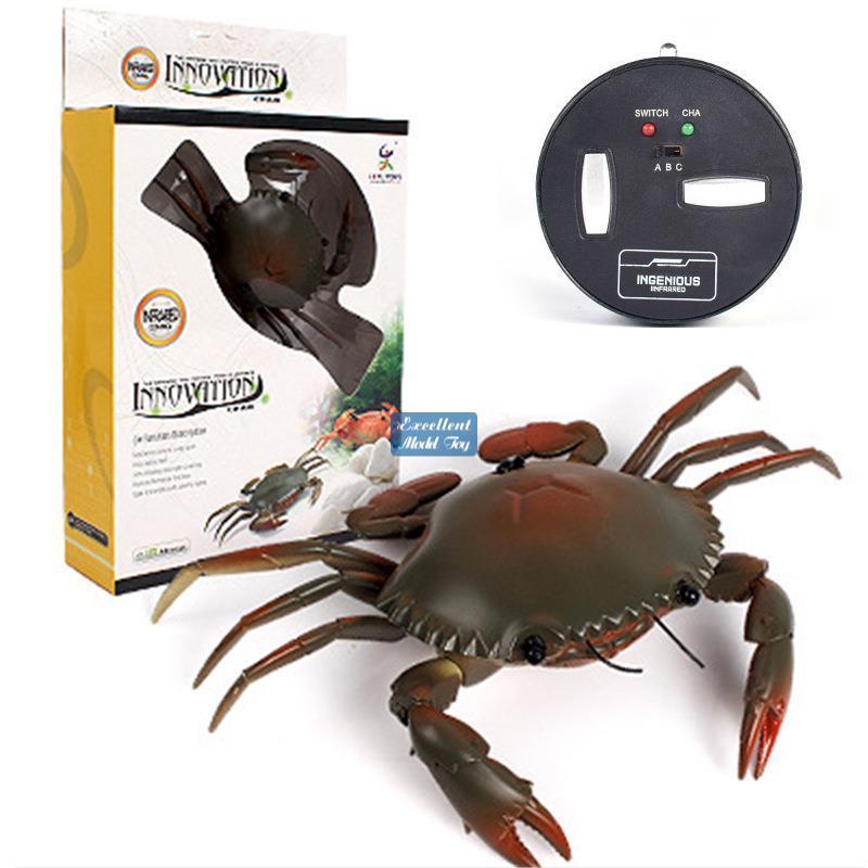 Drahtlose Infrarot-Fernbedienung Krabben-elektrisches Kind Spielzeug, RC-Tiere, Streichwitz-Trickerei, kreativer Weihnachtsgeburtstags-Boy-Geschenk, 2-2