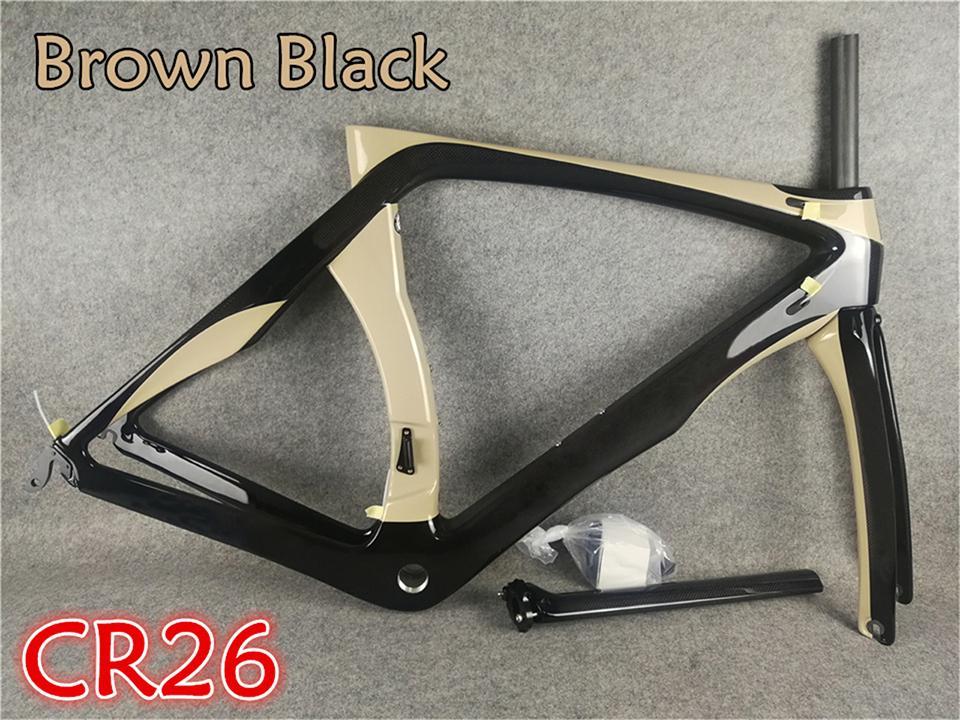 بني أسود اللون T1000 لامع RB1K دراجة إطارات الطريق الكربون دراجة إطارات إطارات الحجم XXS / XS / S / M / L / XL