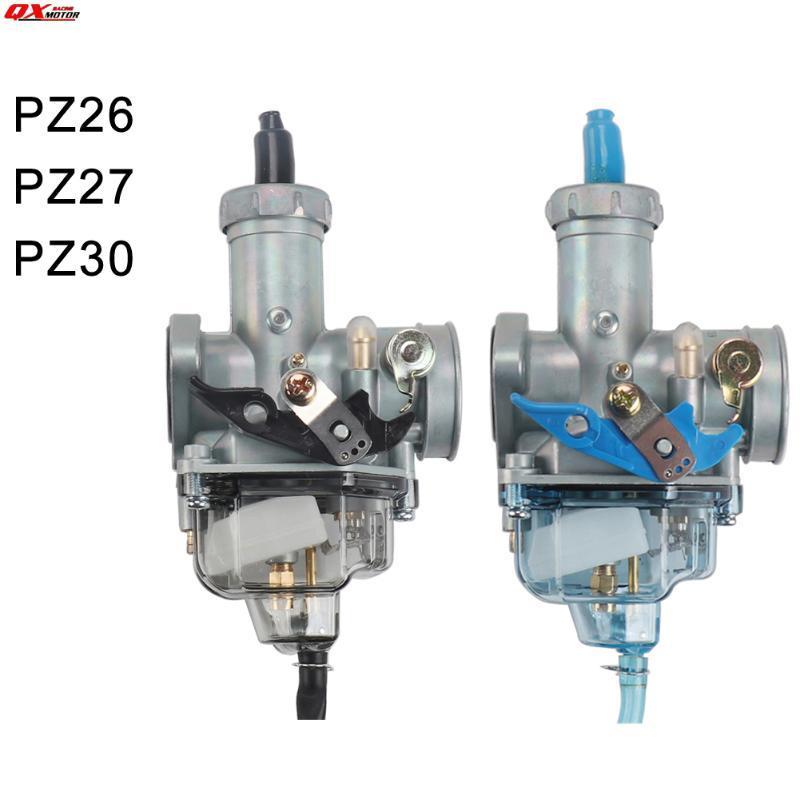 PZ30 Visual Cup Carburador 26mm 27mm 30mm Carb para 125cc 150cc 175cc 200cc 250cc ATV Quad Motocicleta Motocicleta