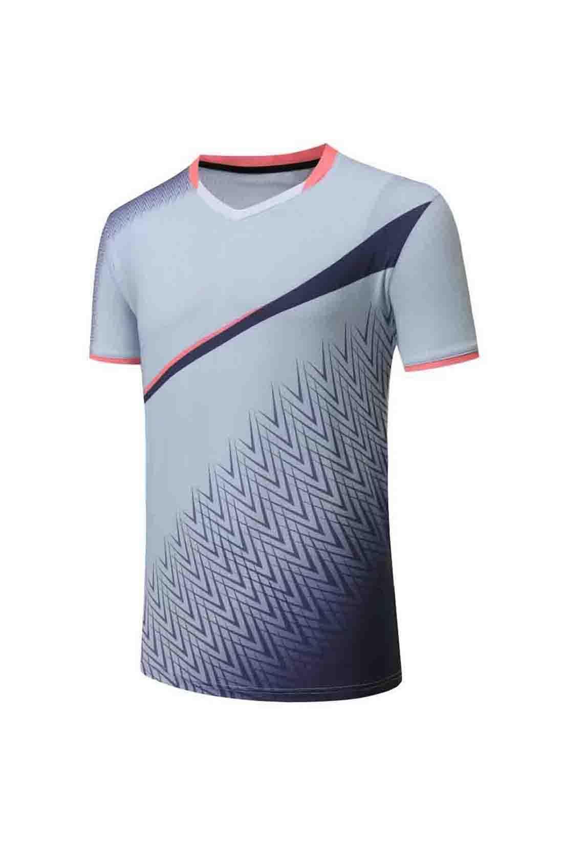 # 473 Chemise de tennis vierge Badminton Jersey Hommes Femmes Sportswear Formulaire Vendue Témoin de sport