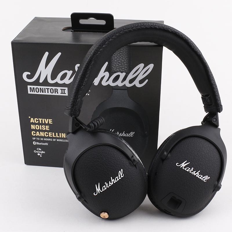 Marshall Monitor II ANC Bluetooth Наушники SHOOM Наушники Deep Bass DJ HiFi Беспроводные наушники
