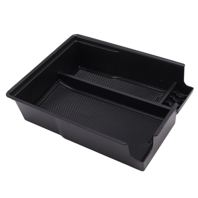 Armrest Rest Storage Box Center Console Organizer For Palisade 2021 Black Car