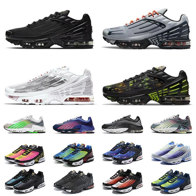 2021 nike air airmax max tn 2 plus 3 turned tns tn3 III nouvelle arrivée baskets de sport laser hommes des chaussures de course pour femmes tous les noirs formateurs blancs