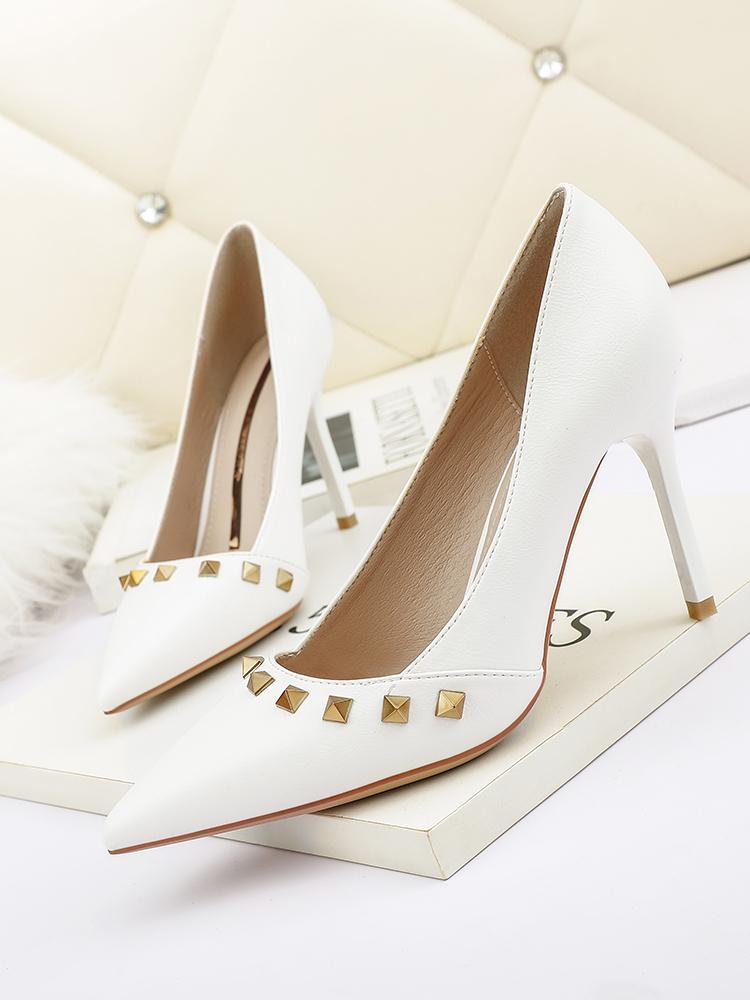 2022 vestido sapatos tipo nu branco azul sandálias preta cúspide salto fino mulheres alta 8cm tamanho grande 40 casamento nightclub fundo vermelho