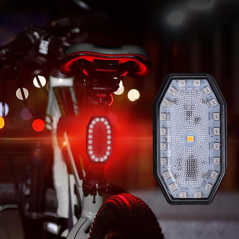 Bisiklet Işık Evrensel Su Geçirmez LED Güvenlik Arka Lambaları Klip Lamba Kafası Lightwaterwaster ve Dayanıklı A630 Bisiklet Işıkları