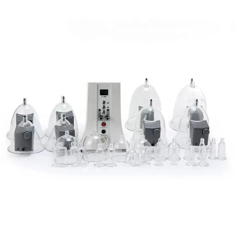 المعدات النحيفة المحمولة منتجات توسيع تعزيز الثدي مع جهاز رفع الجلد كأس الرفع الدورة الدموية