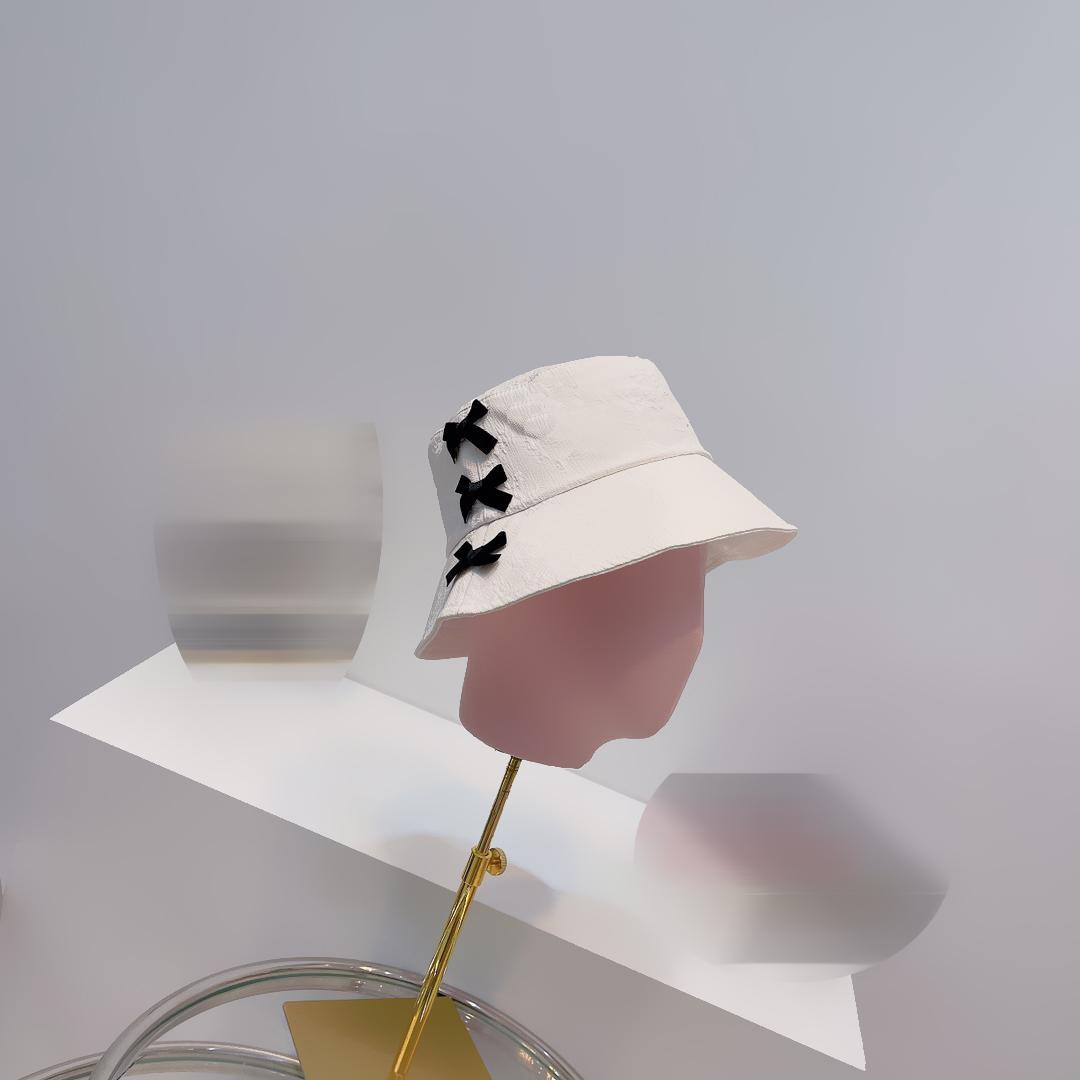 Fashion Women Bucket Hats Baseball Cap Golf Hat Snapback Beanie Summer Visor Caps Stingy Brim Top Quality For Gift