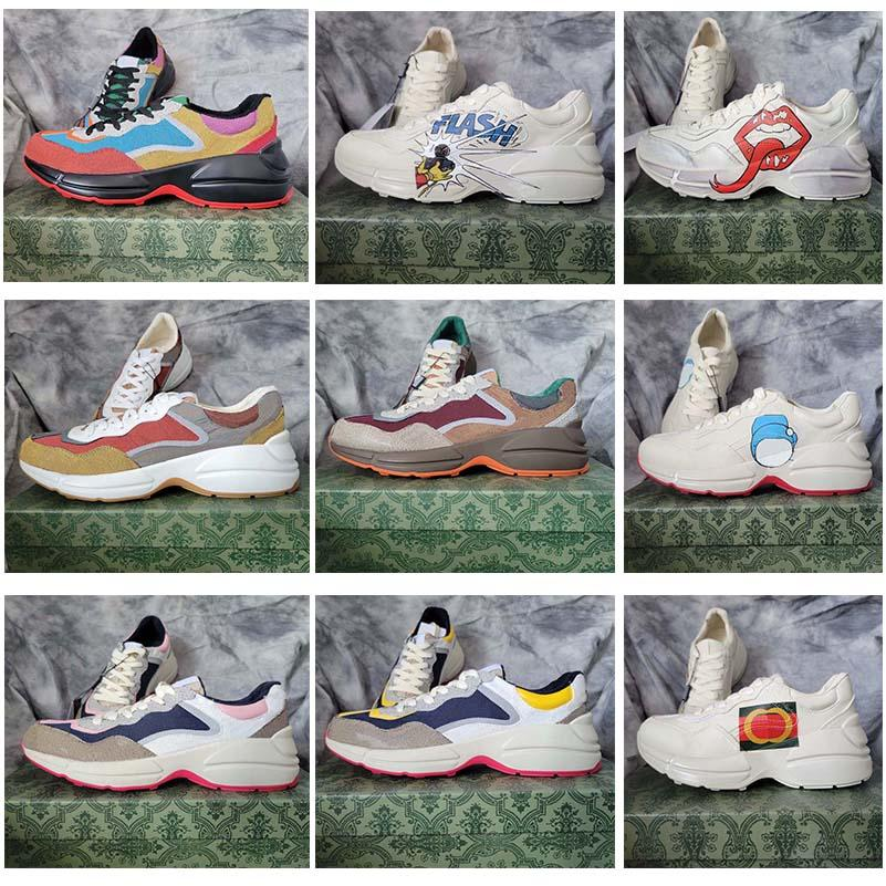 Nuove scarpe casual casual in fuga Top Sneaker Designer Plaid Pattern Piattaforma Classico pelle scamosciata Sport Sport Sport Skateboarding Scarpe da uomo Sneakers 35000