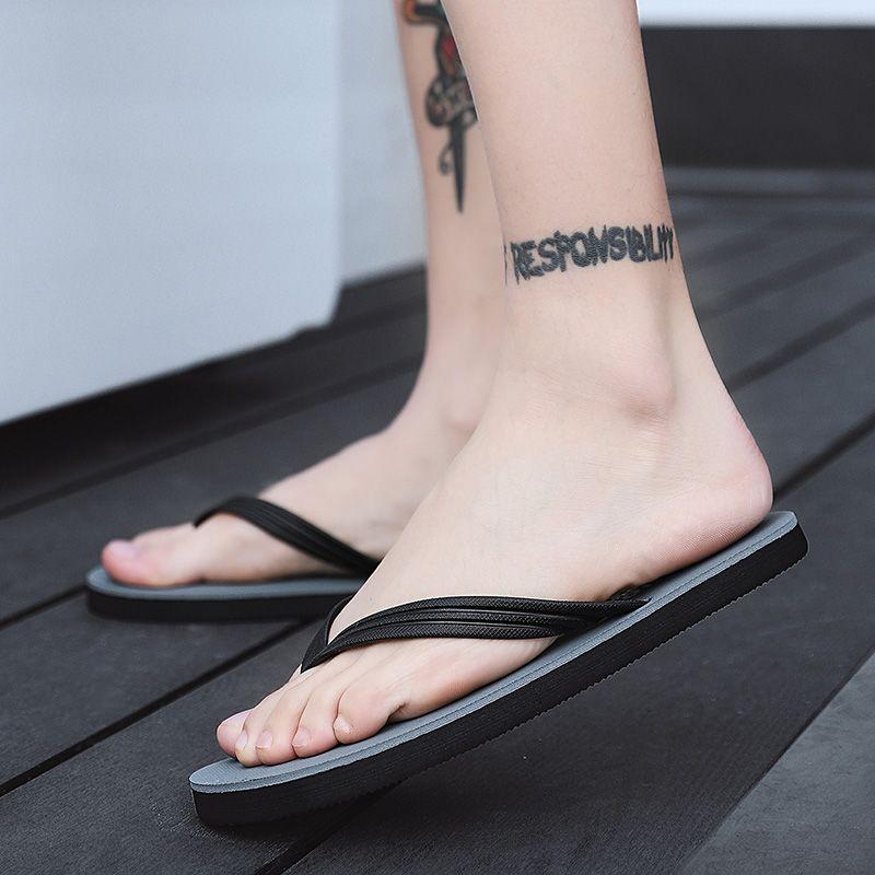 Bahar Güz Terlik Slaytlar Ayakkabı Sandalet Kadın Trend Moda Alt Çevirme Yürüyüş Kaykay Açık Plaj Rahat Köpük Stokta 3