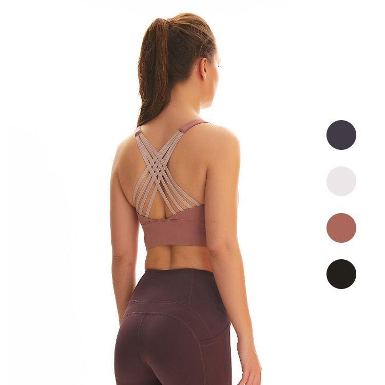 CamiNies Tanks Yogaworld النساء الملابس الداخلية اليوغا الملابس الداخلية الرقص بيلاتيس ممارسة العقول تيرا عرض البرازيلي الأبيض وردي رمادي أسود