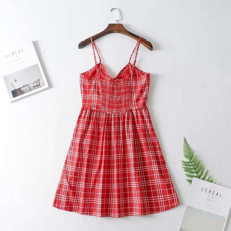 V-Ausschnitt Beiläufige Knotenkleider Hohe Taille Kleid A + - 9786