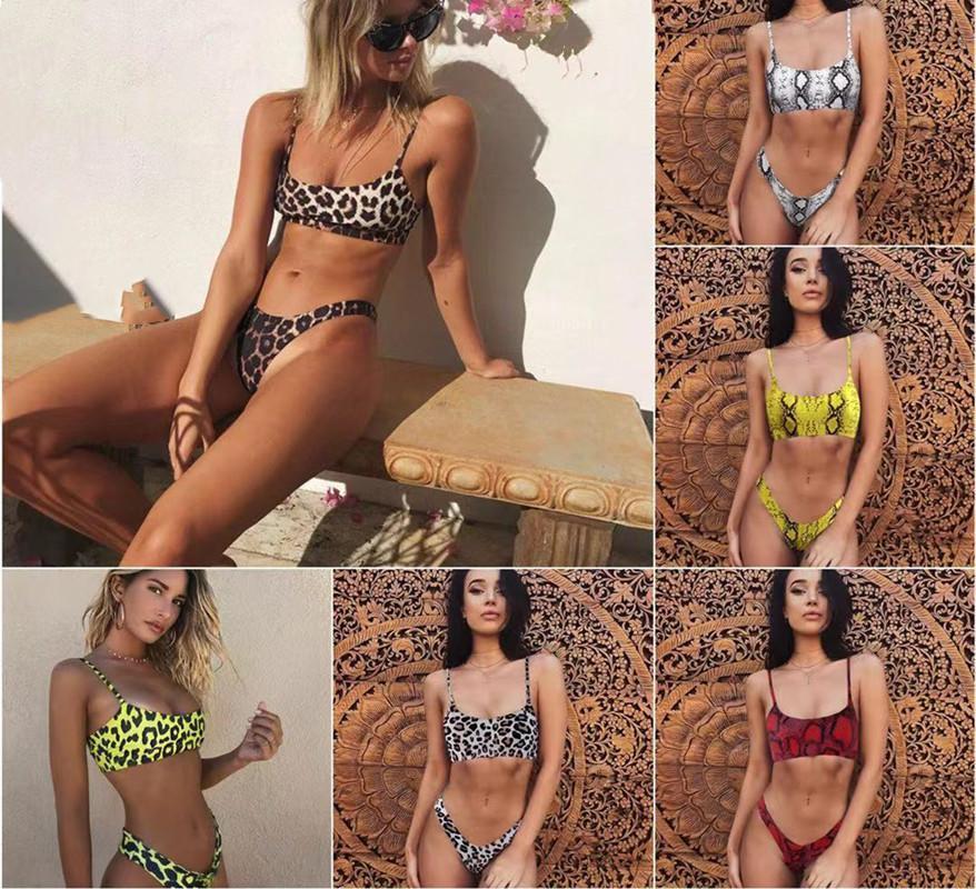 الدعاوى قطعتين مثير نمط المرأة الصيف ليوبارد سبليت ملابس السباحة، في 2021 المألوف الكلاسيكية وثيقة الطباعة مناسبة تجمع الشاطئ بيكيني
