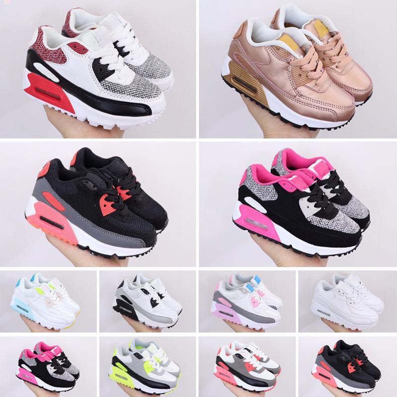 Kinder Turnschuhe Schuhe Kinder Athletic Outdoor Schwarz Rosa Baby Infant Sneaker Sporttrainer Mädchen Jungen Größe 28-35