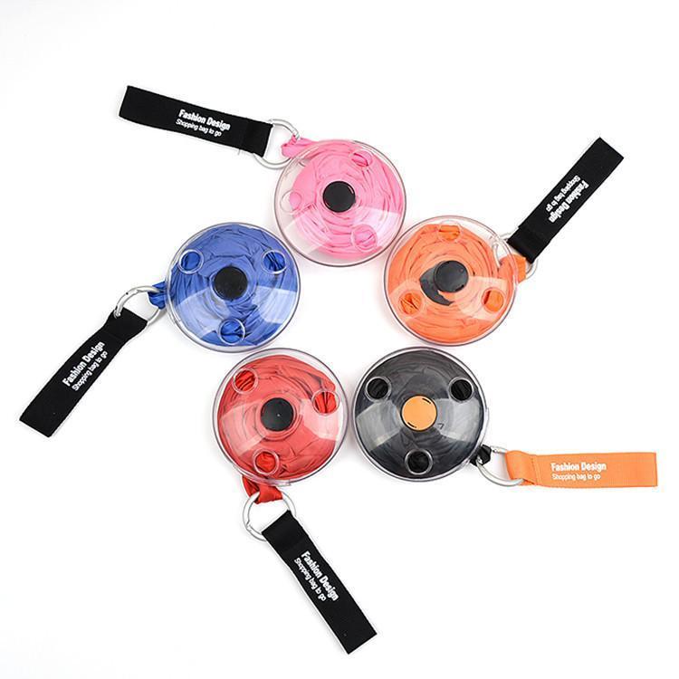 Lagerung Artefakt Kleine Scheibe Einkaufstasche Kreative Multifunktionale Wiederverwendbare Teller Messenger Bags